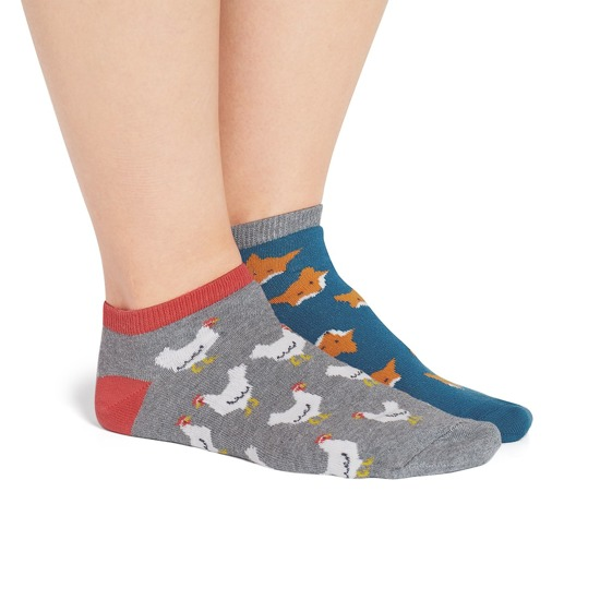 Mens footies SOXO GOOD STUFF no coinciden - zorros y pollos