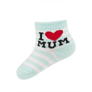 SOXO calcetines con inscripción 'I love MUM'